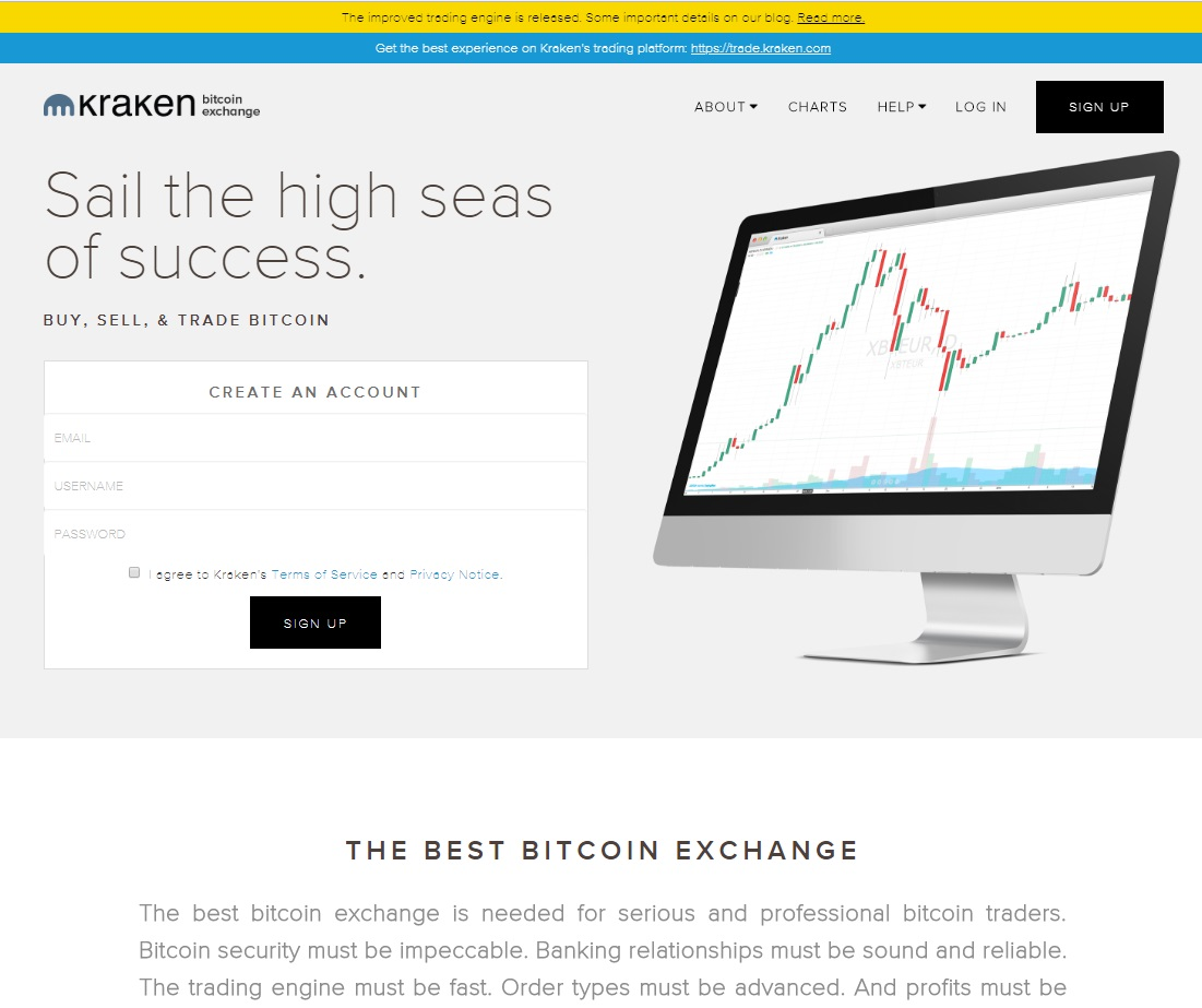 Kraken Review by Hot Forex Signals