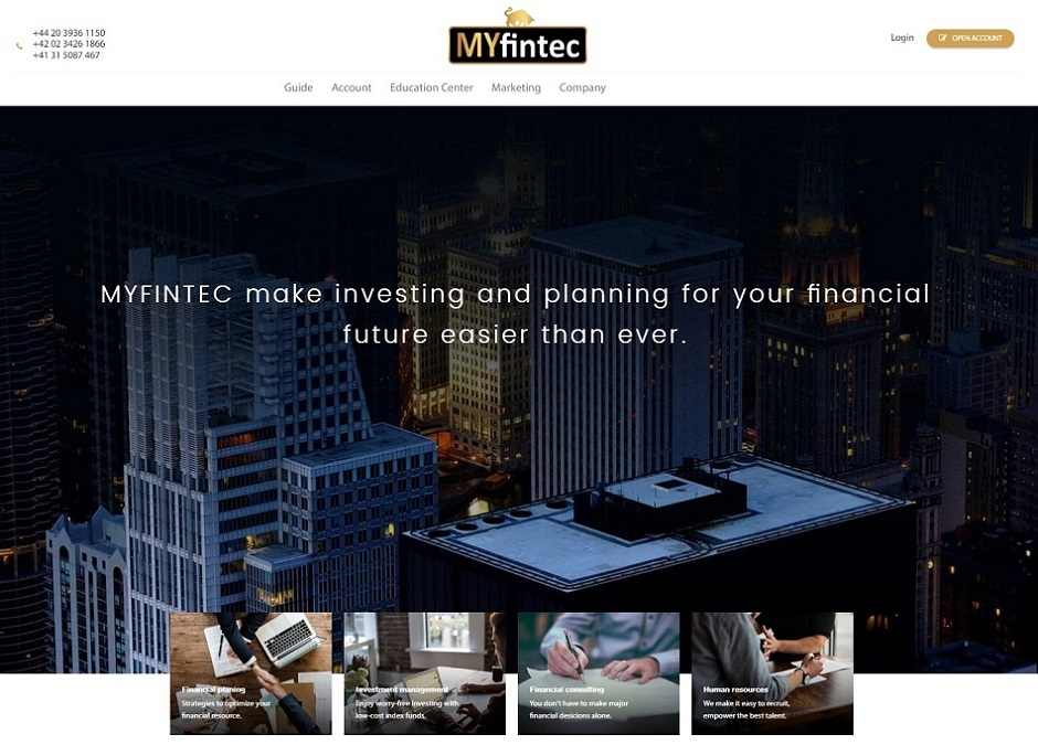 MYfintec Review by Hot Forex Signals