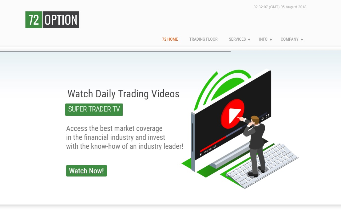 72option Binary Options Scam