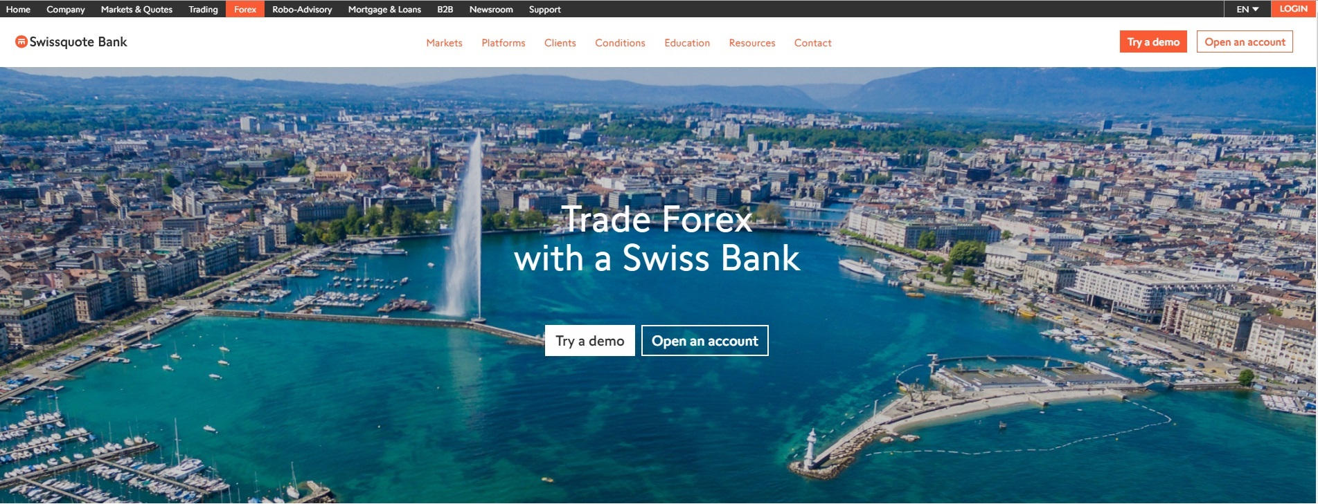 Swissquote Review by Hot Forex Signals