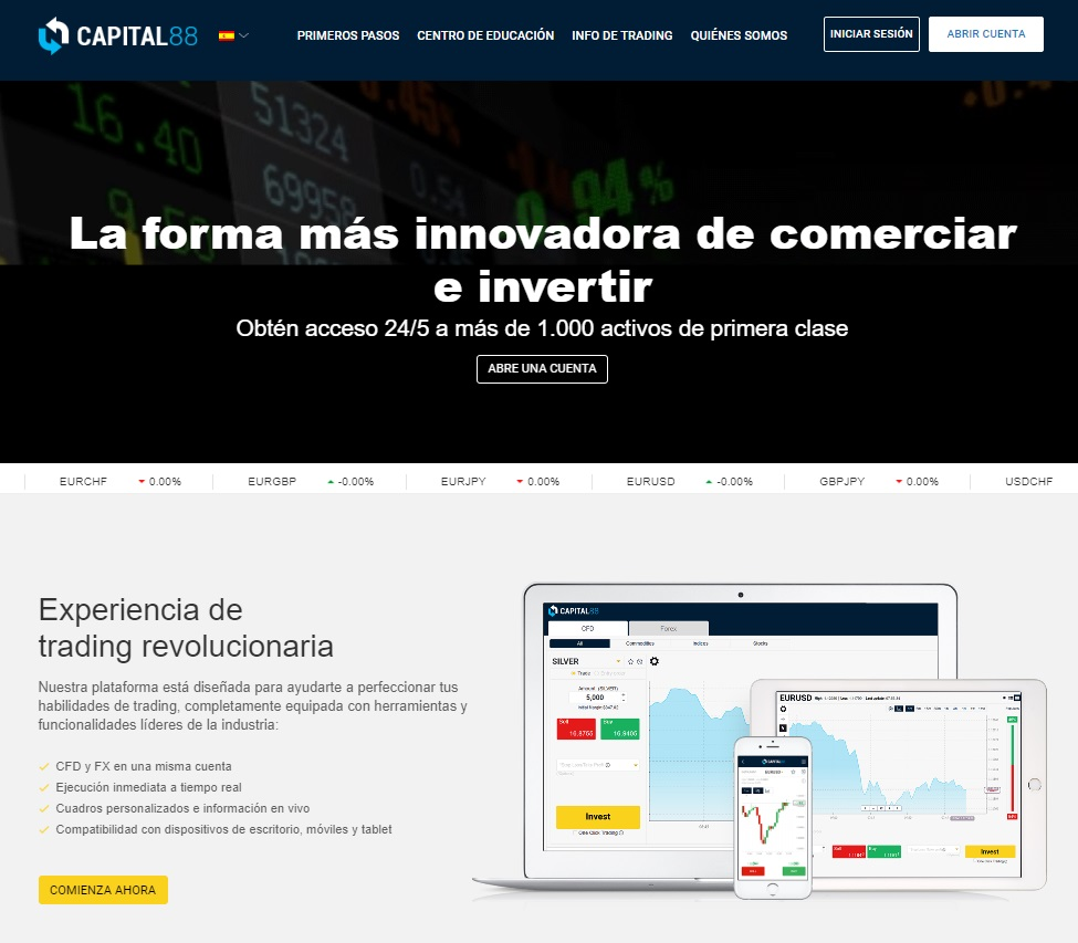 Capital88: Una Solución Innovadora Para El Comercio