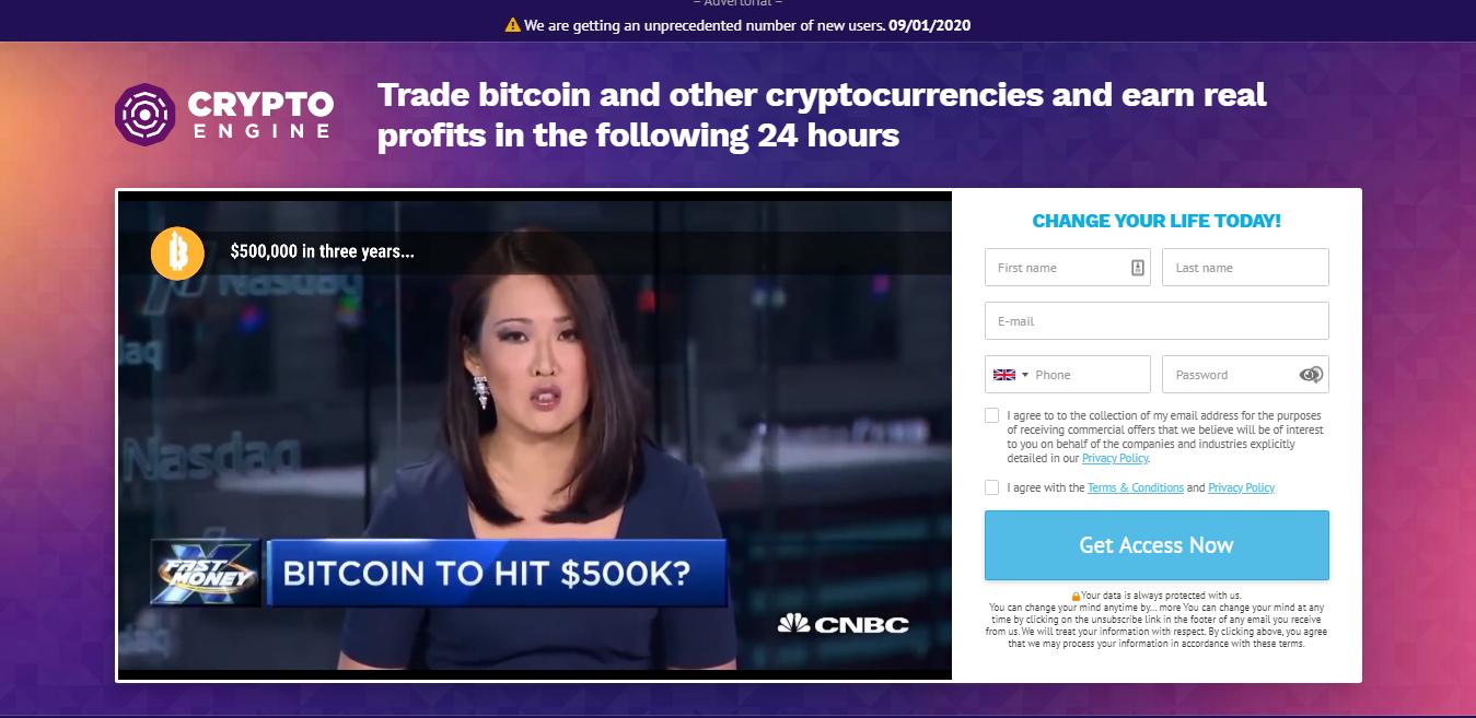 Crypto Engine Trading Robot - Scam or legit?