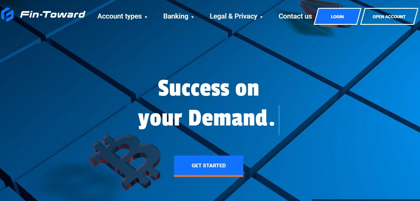 Fin-Toward website screenshot