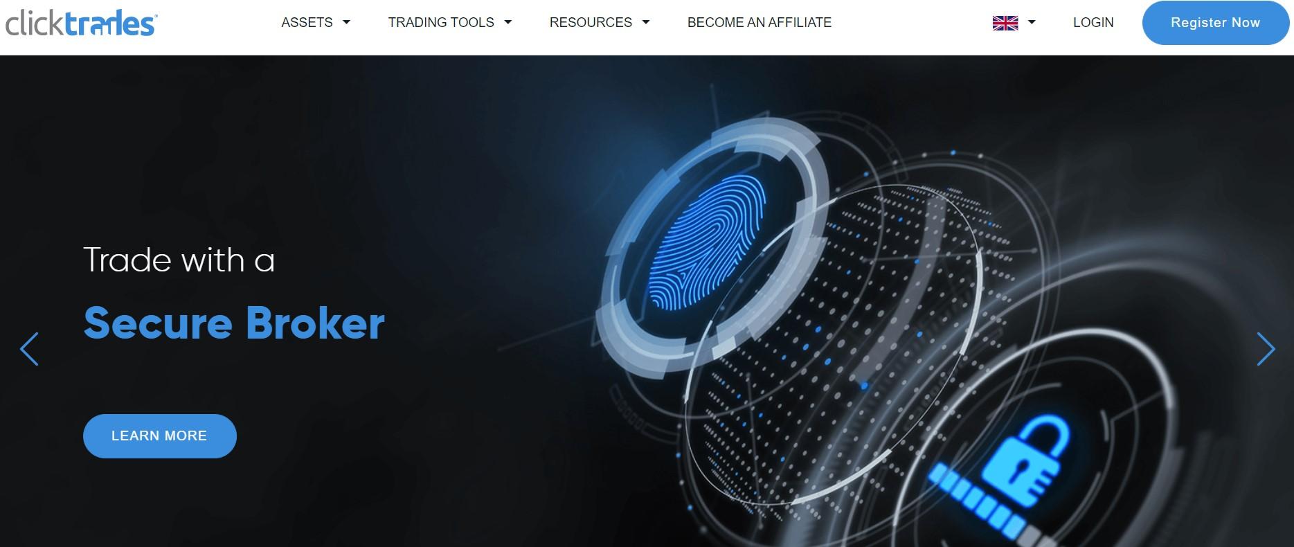 ClickTrades secure CFD broker